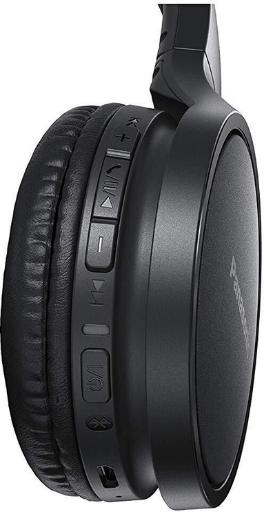 Наушники Panasonic RP-HF410BE-K Black, беспроводные