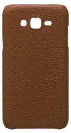 Mocco Lizard Back Case For Samsung  Galaxy S9 Plus Brown