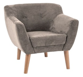 Atzveltnes krēsls Signal Meble Bergen 1 Light Brown, 78x54x76 cm