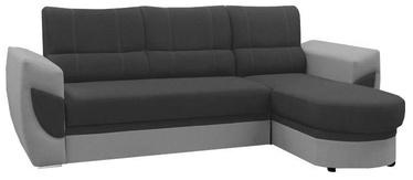 Stūra dīvāns Idzczak Meble Trendi Bahama 35/31 Gray, labais, 250 x 170 x 97 cm