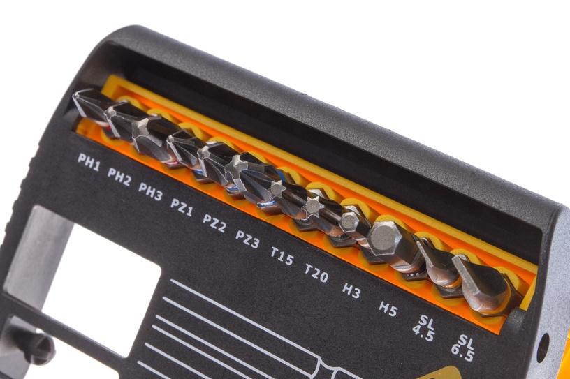 Набор бит для шуруповерта Forte tools BT15-00, 15 pcs.
