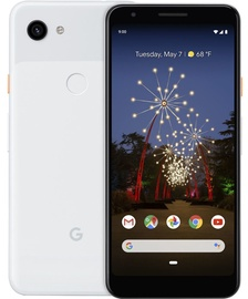 Mobilais telefons Google Pixel 3a Clearly White, 64 GB