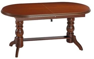 Обеденный стол Signal Meble Daniel Chestnut, 1200 - 1600x700x620 - 750 мм
