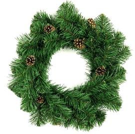 DecoKing Lena Christmas Wreath 50cm Pine Cone