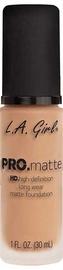 Tonizējošais krēms L.A. Girl PRO Matte Foundation Light Tan, 30 ml