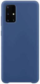 Hurtel Soft Flexible Rubber Back Case For Samsung Galaxy A51 Blue