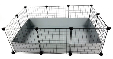 Клетка для грызунов C&C Modular Cage 3x2, 1100 мм x 370 мм x 750 мм