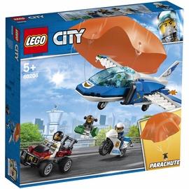 Konstruktors Lego City Sky Police Parachute Arrest 60208