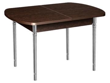 Pusdienu galds DaVita Orfej 10 Wenge, 1120x750x750 mm