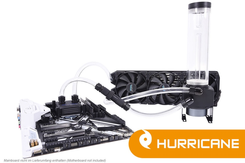 Alphacool Eissturm Hurricane Copper 45 3x120mm Complete Kit