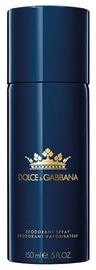 Dolce & Gabbana K By Dolce & Gabbana Deodorant Spray 150ml
