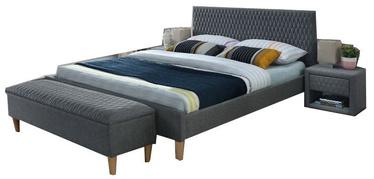 Кровать Signal Meble Azurro Grey, 160 x 200 cm