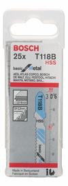 Bosch 2608638471 T 118 B Jigsaw Blade Set 25pcs