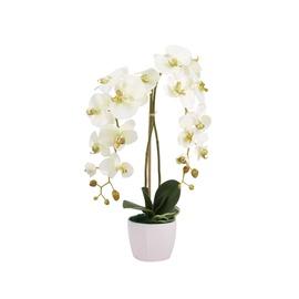 Mākslīgie ziedi puķu podā Artificial Orchid Flower Pot 60x15x15cm