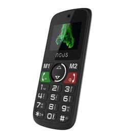 Мобильный телефон Nous NS1736, черный, 32MB/32MB