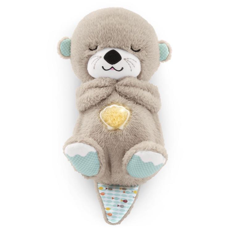 Интерактивная игрушка Fisher Price Soothe & Snuggle Otter Grey FXC66