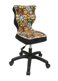 Bērnu krēsls Entelo Petit ST28 Animals/Black, 335x300x775 mm