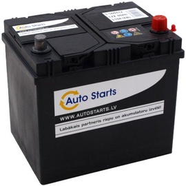 Auto Starts 12V 60Ah JIS 510A