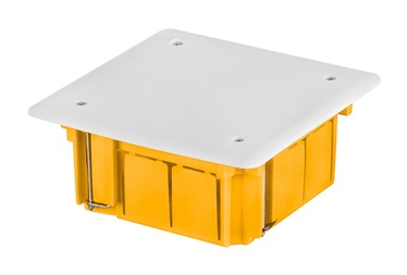 Elektro-Plast 0260-0N Junction Box 89x89mm Yellow