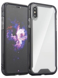Hurtel Clear Armor Back Case With Bumper For Huawei P20 Lite Black