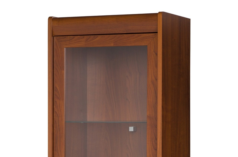 Szynaka Meble Glass Display Cabinets Dover 18 Primavera Cherry