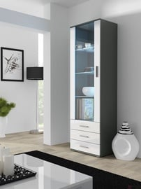 Cama Meble Soho S1 Display Unit Grey/White Gloss