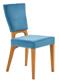 Halmar Wenanty Chair Honey Oak/Marine