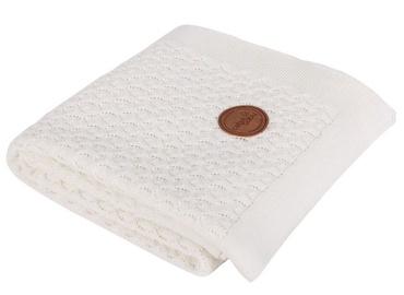 Ceba Baby Knitted Cotton Blanket 90x90cm Cream