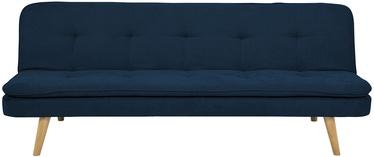 Диван-кровать Home4you Orvieto AC90197, синий, 85 x 195 x 77 см