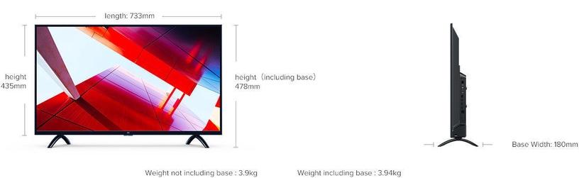 Xiaomi Mi LED Smart TV 4A 32 HD (поврежденная упаковка)
