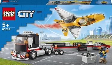 Konstruktors LEGO City Sacīkšu lidmašīnas pārvadātājs 60289, 281 gab.