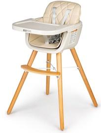 Barošanas krēsls EcoToys Seat, bēša