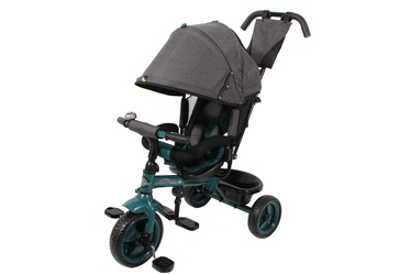 "Bērnu velosipēds Madej XG7331-T16-5, zaļa/pelēka, 12"""