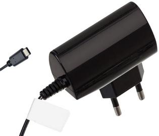 Reverse Universal USB Type-C Travel Charger 1.2m Black