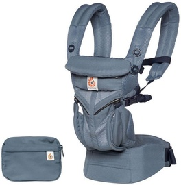 ErgoBaby Omni 360 Baby Carrier All-In-One Cool Air Mesh Oxford Blue