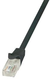 LogiLink CAT 6 U/UTP Cable Black 0.5m