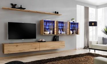 Dzīvojamās istabas mēbeļu komplekts ASM Switch XVII Wotan Oak