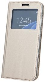 Blun Premium Matt Smart S-View Magnetic Fix Book Case For Xiaomi Redmi Note 4/4X Gold