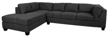 Угловой диван Home4you Helmy, серый, левый, 210 x 309 x 82 см