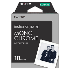 Foto lente Fujifilm Instax SQUARE MONOCHROME, 10 gab.