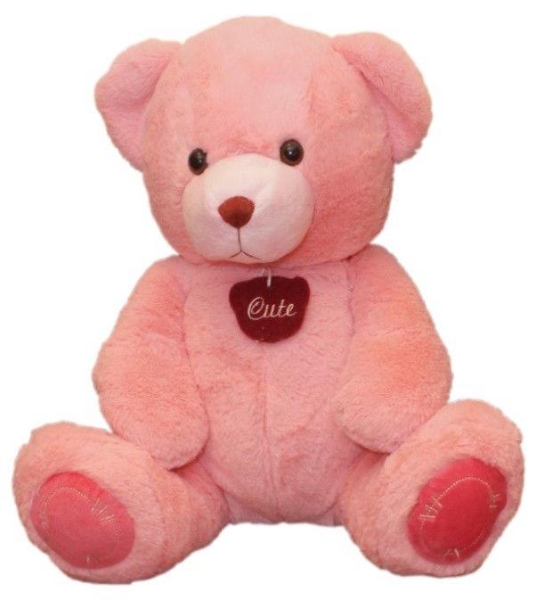 Mīkstā rotaļlieta Axiom Bear Olaf Pink, 34 cm