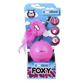 Rotaļlieta kaķim Coockoo Foxy, rozā