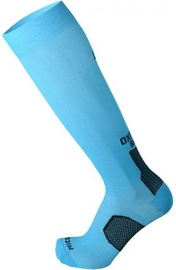Mico Long Running Socks Light Oxi Jet Black/Blue 44-46