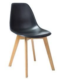 Ēdamistabas krēsls Signal Meble Moris Black, 1 gab.
