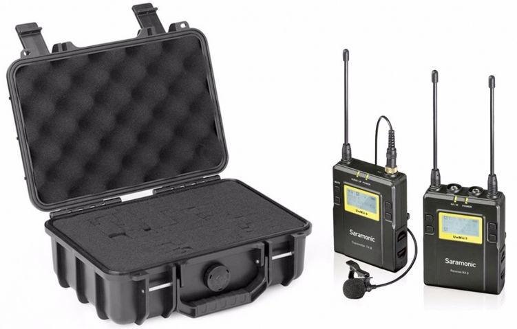 Saramonic Wireless Lavalier Microphone System UwMic9 RX9+TX9 UHF (поврежденная упаковка)