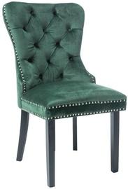 Ēdamistabas krēsls Signal Meble August Velvet, zaļa