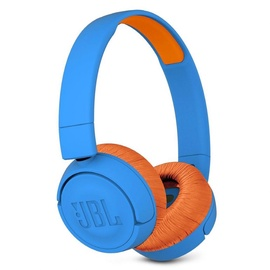 Austiņas JBL JR300BT Blue/Orange, bezvadu