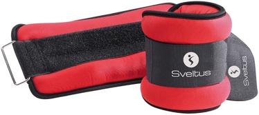 Sveltus Lycra Weighted Cuffs 1.5kg Red