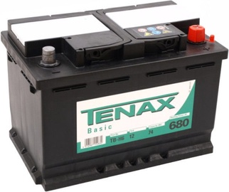 Akumulators Tenax Basic, 12 V, 74 Ah, 680 A