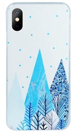 Mocco Trendy Winter Back Case For Huawei Y6/Y6 Prime 2018 White
